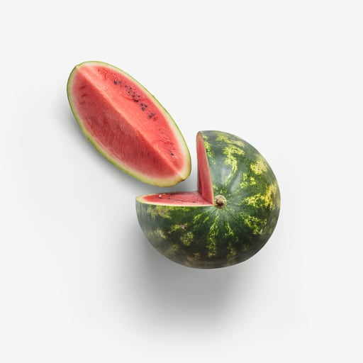 Watermelon PSD layered image