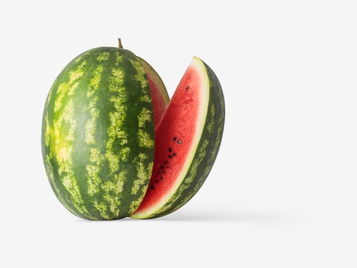 Watermelon image asset with transparent background