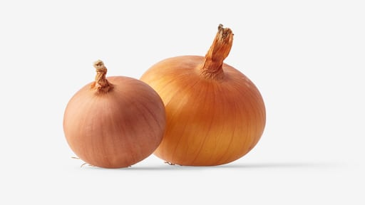 Onion image asset with transparent background
