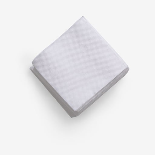 Napkin PSD image with transparent background