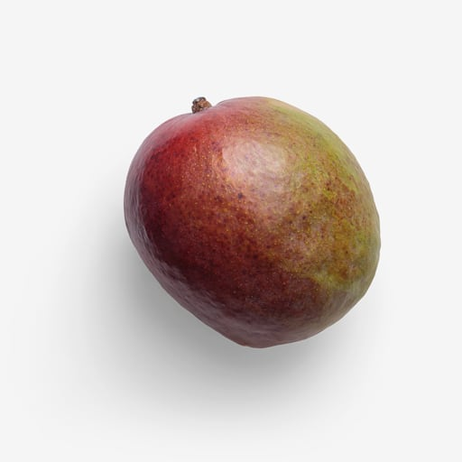 Mango PSD isolated image
