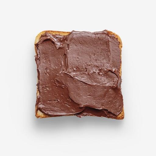 Chocolate PSD isolated image