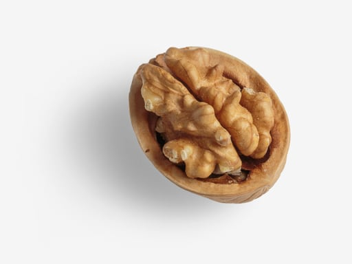 Walnut PSD isolated image