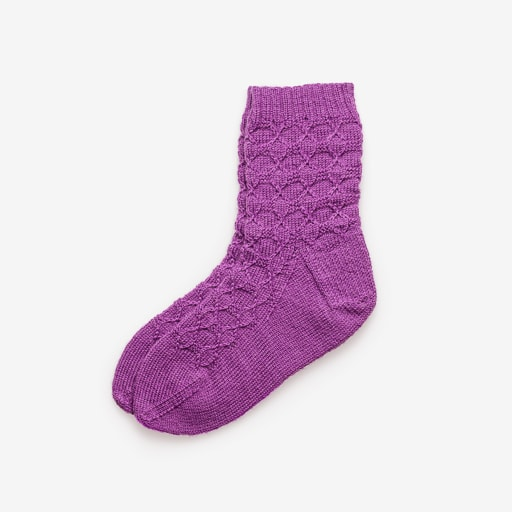 Clean Isolated PSD image of Wool socks on transparent background with separated shadow